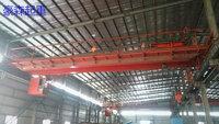 在位出售20/5龙门吊起重机天车行吊,跨度22.5米,两台,主电机37KW,A6