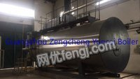 Selling used 10T TF condensing gas&steam boiler of 90% new