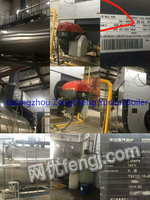 Selling 10T TF condensing gas&steam boiler(low nitrogen 80mg),the year of 2016