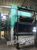 Selling used 8 million calorie coal fired boiler of heat conducting oil