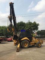 广东出售CAT416E二手农林抓木机