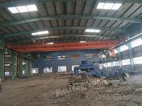 内蒙包头工地出售双梁行车QD10吨、QD20吨、QD32/5吨多台