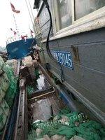 出售二手渔船1条,长28m,宽5.8m,450马力
