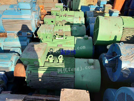 出售二手库存电机YPT355L2-6 250KW380V变频调速三相异步电动机