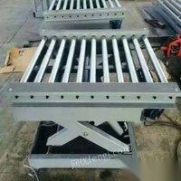 处理库存二手固定式升降机导轨式升降平台简易电梯固定式升降机液压升降平台