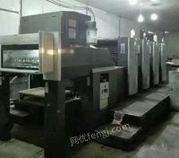 出售10年海德堡SM74-4H一台印刷机