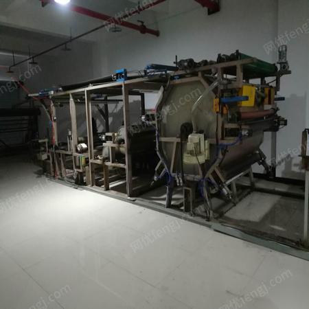 出售油胶服装复合设备,胶点转移复合机,纺织面料复合机械