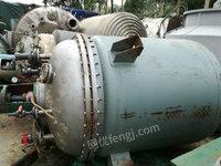 低价处理2吨不锈钢反应釜
