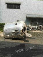 江西出售3吨不锈钢反应釜