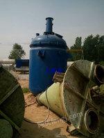 长期回收化工设备,反应釜