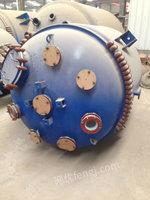 出售三吨全新不锈钢和搪瓷反应釜