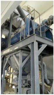 出售干混砂浆生产线、40T罐、混合机、自动包装机、控制柜操作、除尘设备