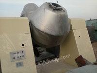 出售不锈钢双锥回转真空干燥机