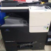 柯尼卡c226彩色黑白激光打印复印扫描输稿器,九九成新便宜转让
