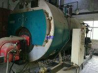 出售天鹿4吨燃油蒸汽锅炉