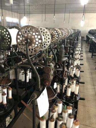 织带厂处理闲置织带机4台,编织机2台,打头机2台,打绳机2台
