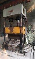 出售闲置500吨四柱油压机