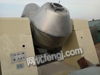 出售10——750不锈钢双锥型回转真空干燥机