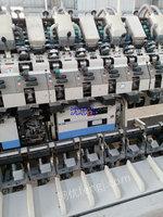 处理旧涡流纺设备  日本村田涡流纺7台,型号861,现货在湖北