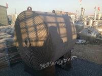 出售二手不锈钢螺旋板换热器
