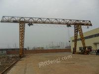 处理花架龙门吊10吨跨度16米 航吊 行车