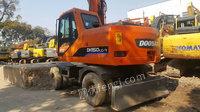 出售斗山DH150轮式挖掘机