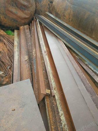 大量回收废钢利用材工字钢螺纹钢
