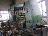转让重庆y31125滚齿机一台;16模