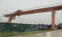 处理旧100吨以下:龙门吊行吊行车航吊行车天车天吊