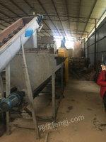 出售一条塑料清洗流水线,破碎塑料!货在桂林