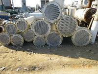 出售二手10——750型平方不锈钢列管冷疑器