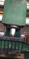 处置积压一千吨单臂油压机
