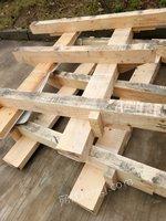长期出售韩国进口木材,一个星期3、4吨