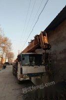 出售双卷扬12吨吊车