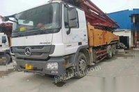 出售13年8月国4.三一49米泵车