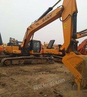 出售亳州挖机 三一235纯土方机手续齐全