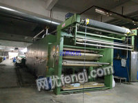 出售:惠盛平网印花机2台,8色蒸气加热 14色天然气加热 2011年