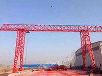 出售5吨跨度15米外悬各3米腿高6米花架龙门吊