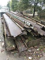 上海回收利用材,螺纹钢,工字钢,H型钢