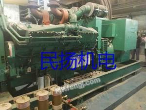 广东出售二手Q60,KTA50 发电机组