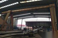 转卖16吨跨度18米行车,单边外悬6米,工字钢到地面9米