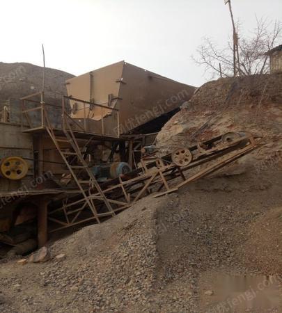 因合伙人太多,石料厂转让,每小时120吨石料生产线