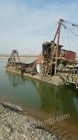 宁夏出售二手100吨采沙船