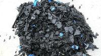 河北高价回收PP打包袋料,黑蓝料,水果框料