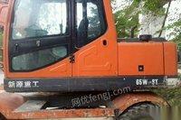 新源轮式挖机多台出售