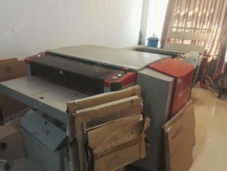 出售2台使用中13年华光四开UV发版机