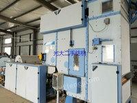 出售二手棉纺设备 出售2007年河南荥阳076E清花机长流程一套