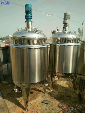市场现货低价销售二手不锈钢500升发酵罐