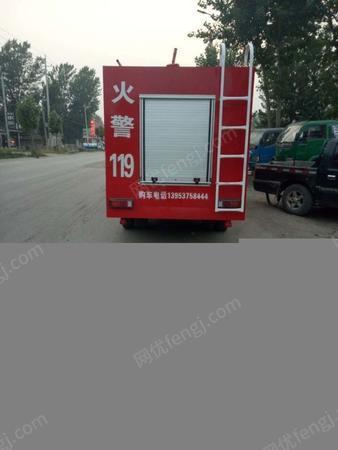 处置积压小型电动消防车民用洒水消防车乡镇企业专用水罐消防车
