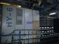 出售二手加弹机 11年240锭宏源1000V型氨纶包覆一体机